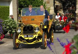 Veteranenfahrzeug Bayard Clement 1904 / Classic car Bayard Clement 1904