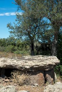 Grabkammer Dolmen Motorra bei Dorgali, Sardinien