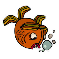 strange vector fish
