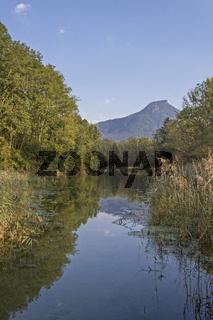 Kranzhorn mit Altwassertümpel