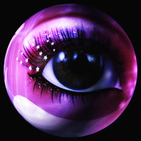 Digital 3D Illustration of a mystic female Eye
