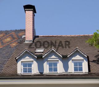 Dachgauben am Haus zum Weißen Bär, Marktstätte Konstanz