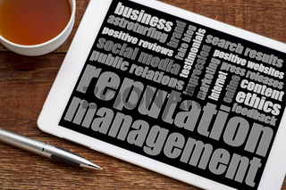 reputation management word cloud