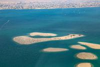 Dubai The World Welt Inseln Clarence Chile Luftaufnahme Luftbild