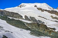Peak Alphubel, Saas-Fee, Valais, Switzerland