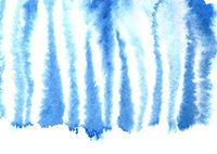 Blue zebra skin pattern