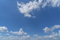 cloudscape with blue sky for backgrounds