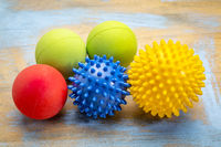 self massage and reflexology therapy balls