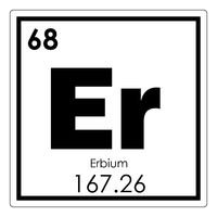 Erbium chemical element