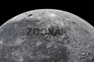 Mond - moon with crater copernikus