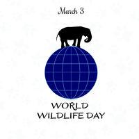 World Wildlife Day, March 3.