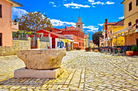 Colorful architecture of historic town of Nin