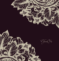 Hand Drawn Floral Vector Design