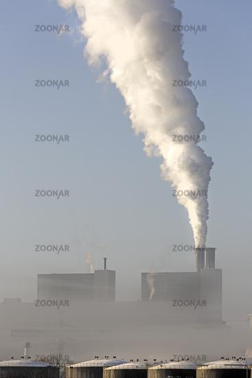 Coal-fired power plant, Moorburg, Hamburg, Germany, Europe