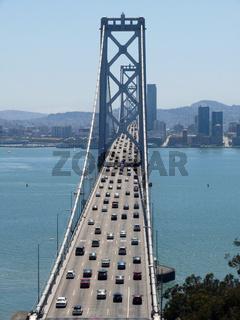 Berufsverkehr auf der Oakland Bridge - Rush Hour