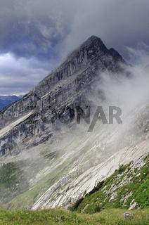 Kleinerer Gipfel des Watmannmassivs