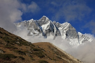 Lhotse, view from Chukhung