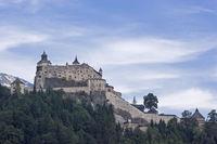 Fortress Hohenwerfen in the Salzburger Land
