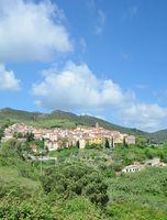 Village of Rio nell`Elba,Island of Elba,Tuscany,mediterranean Sea,Italy