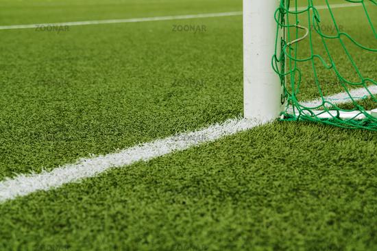Soccer goal cut & blur, 3