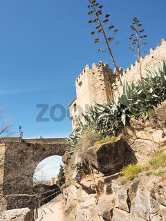 Wanderweg in Toledo, Kastilien, Spanien