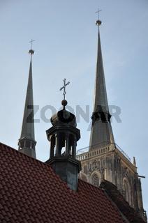 Dominsel in Breslau/Wroclaw