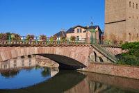 Gedeckte Bruecken in Strassburg im Elsass - Ponts Couverts in Strasbourg, Alsace