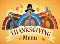 Thanksgiving menu theme image 4