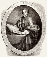 Jean-Philippe Baratier a noted child prodigy of the 18th century