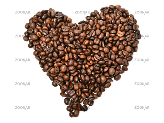 I love coffee. closeup