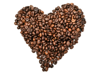 I love coffee. closeup