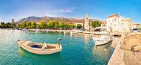 Kastel Sucurac historic waterfront panoramic view