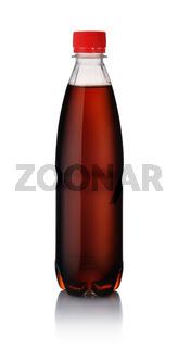 Plastic bottle of  cola