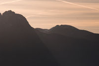 Mountains of South Tyrol Sunrise
