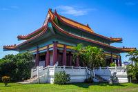 Chinese temple in Papeete on Tahiti island