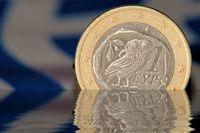 greek euro sinking