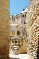 Dormition Abbey on the Mount Zion