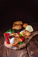 original french buttercroissants