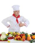 Chef at restaurant