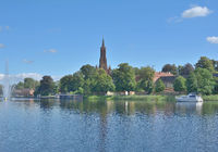 Monastery of Malchow in Mecklenburg Lake District,Mecklenburg western Pomerania,Germany