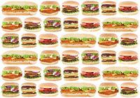 Fast Food Hintergrund Hamburger Cheeseburger Burger Fastfood essen