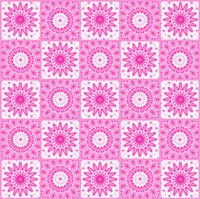 Background with abstract pink pattern