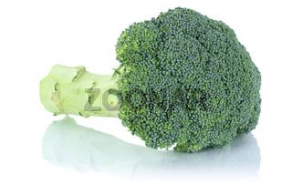Brokkoli Broccoli frisch Gemüse Freisteller freigestellt isoliert
