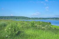 Lake Dreifelden in Westerwald Lake District,Rhineland-Palatinate,Germany