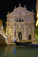Church of San Moise located at Venice, Italy
