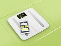 Smart body analyzer and smartphone