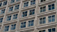windows on building facade , house exterior