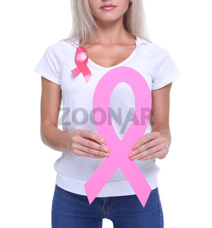 The concept health and prevention of breast cancer.