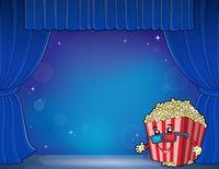Stylized popcorn theme image 5