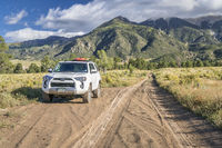 Toyota 4Runner on Medano Pass Road